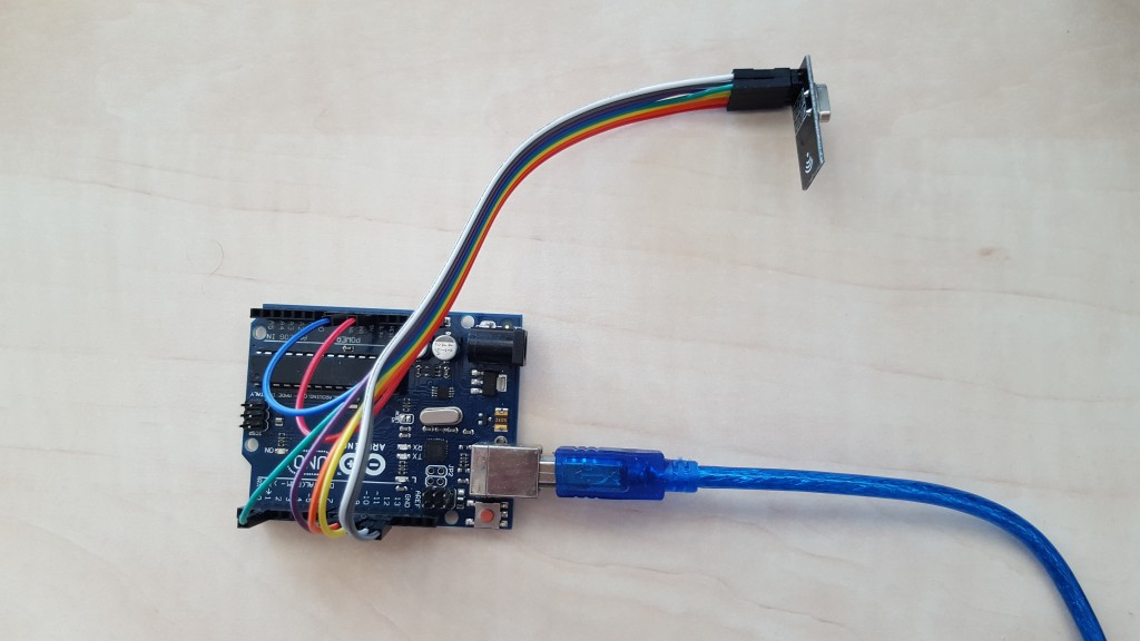Arduino Uno with a NRF24L01+