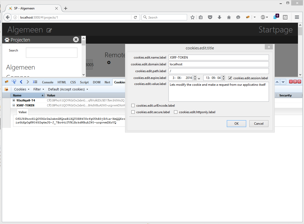 Preventing CSRF in ASP NET Core combined with AngularJS