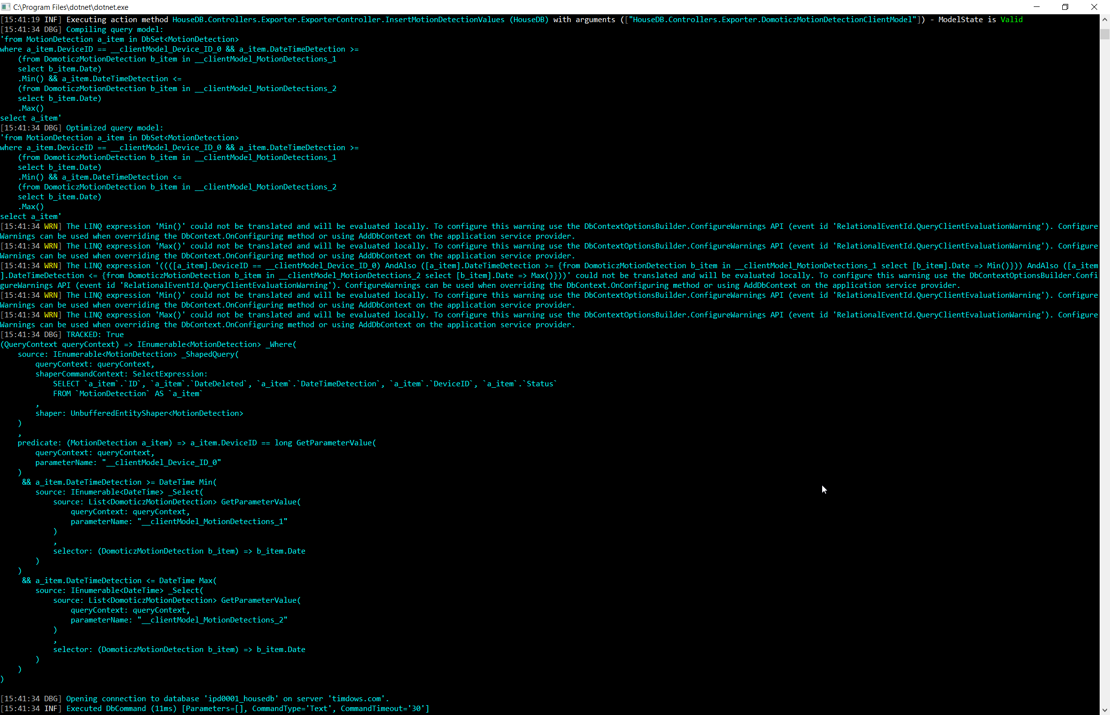 Optimizing entity framework linq queries – timdows